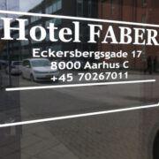 Hotel Faber ├еbent hele ├еret