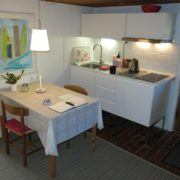 B&B køkken og spiseplads
