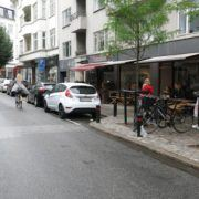 Bed and Breakfast Århus, café i Borggade
