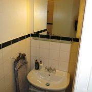 Hotel Guldsmeden Århus - badeværelse til enkeltværelse