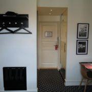 Milling Hotel Ritz - enkeltværelse, dørparti