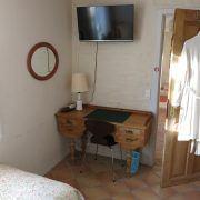 Annas B & B., Risskov, dobbeltværelse, skrivebord