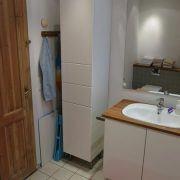 Annas B & B., Risskov, badeværelse, håndvask