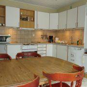 B & B Hejren. Et veludstyret køkken.