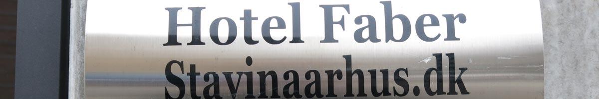 Overnatning i Århus. Hotel Faber, Århus C.