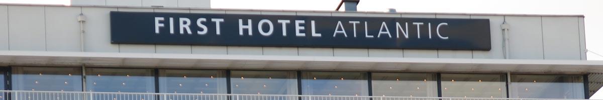 Overnatning i Århus. First Hotel Atlantic, Århus C.