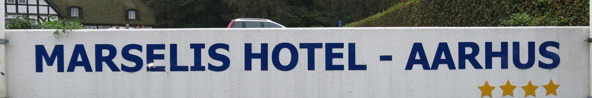 Overnatning i Århus. Marselis Hotel - Aarhus, Århus C.