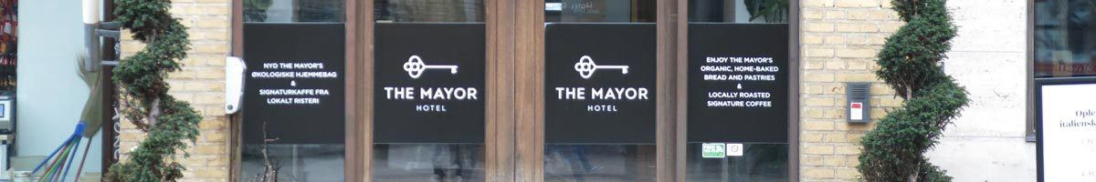 Overnatning i Århus. The Mayor Hotel, Århus C.